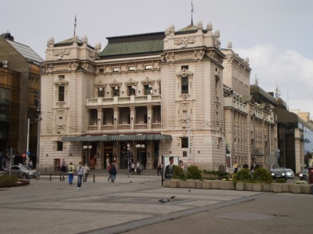 Belgrado-Teatro Nacional